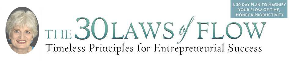 The 30 Laws of Flow Logo